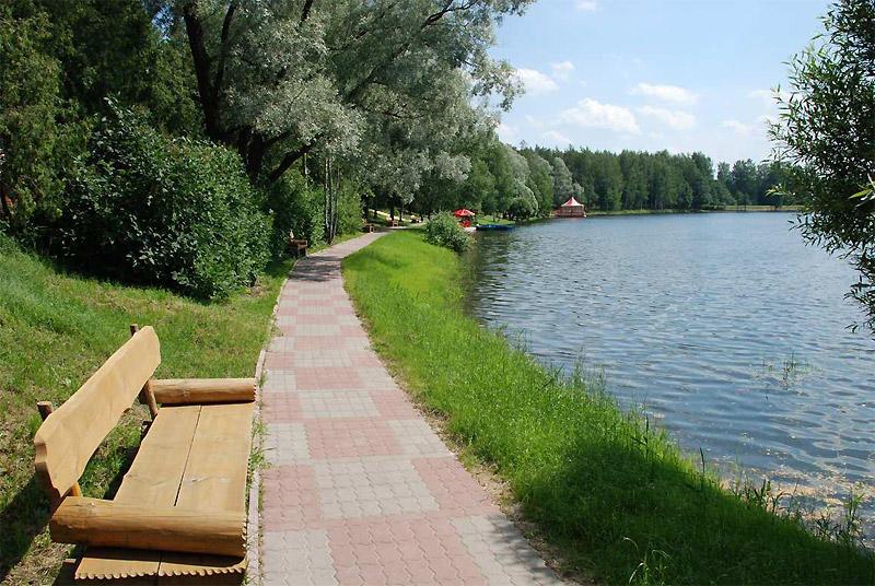 Озеро белых лилий пушкинский район