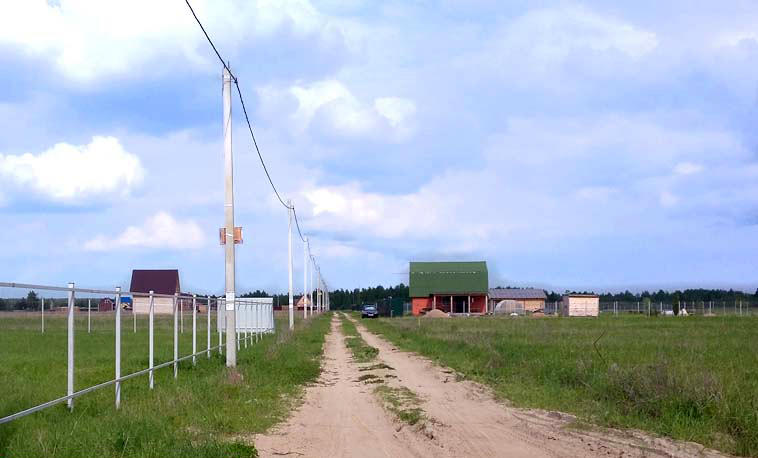 Коттеджный посёлок  «Ефимовский лес» по адресу Московская обл, Павлово-Посадский р-н, Ефимово д в 57.6км от МКАД