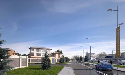 Фото коттеджного посёлока Сколково Town
